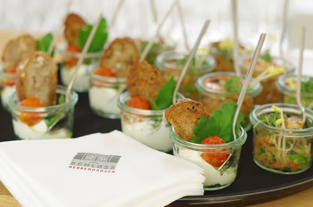 Clean Eating und unverfälschte Speisen im Schloss Herrenhausen
