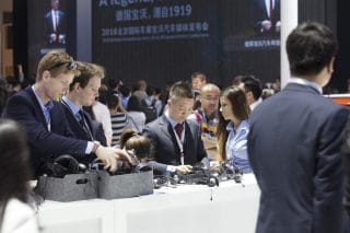 Guestmanagement bei der Auto China