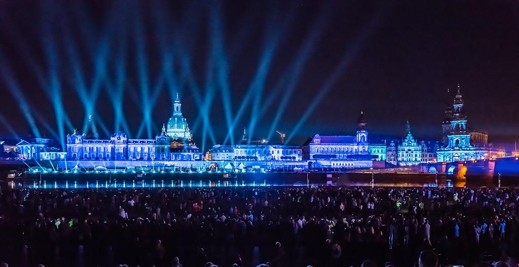 Der Tag der Deutschen Einheit 2016 in Dresden.