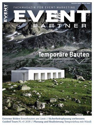 Event Partner Ausgabe 1|2018 _ Cover EP