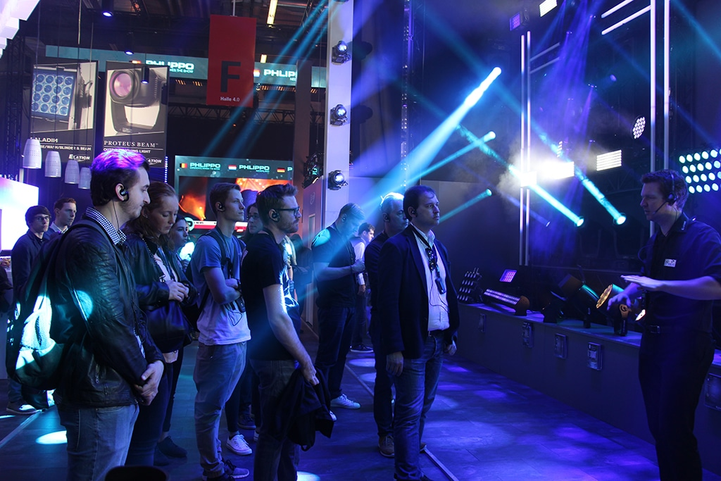 Event Partner Guided Tour 2018: Thema Licht