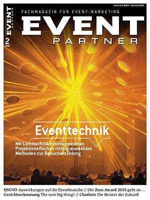 Event Partner Ausgabe 2/2018