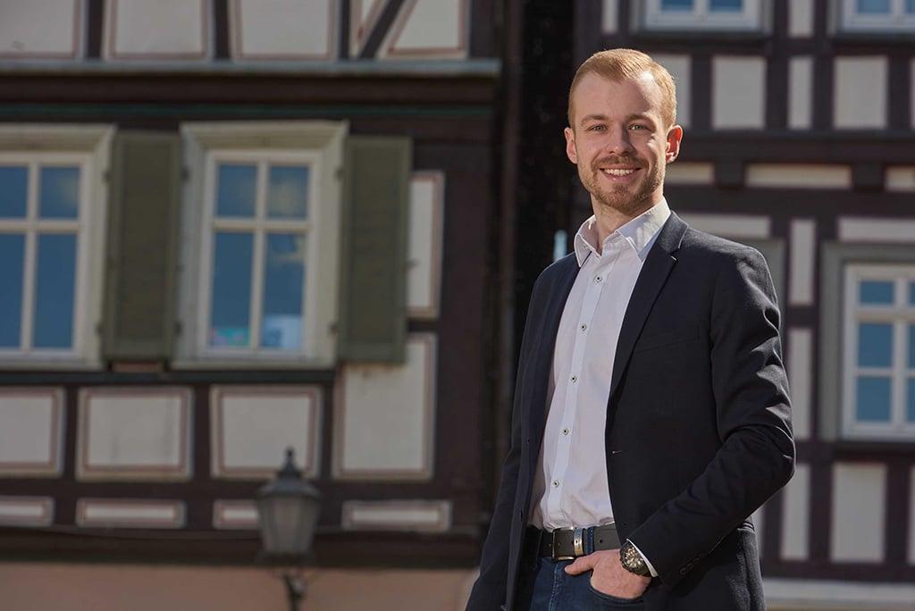 Tim Taraschewski, Geschäftsführer der MAXIME Promotion KG