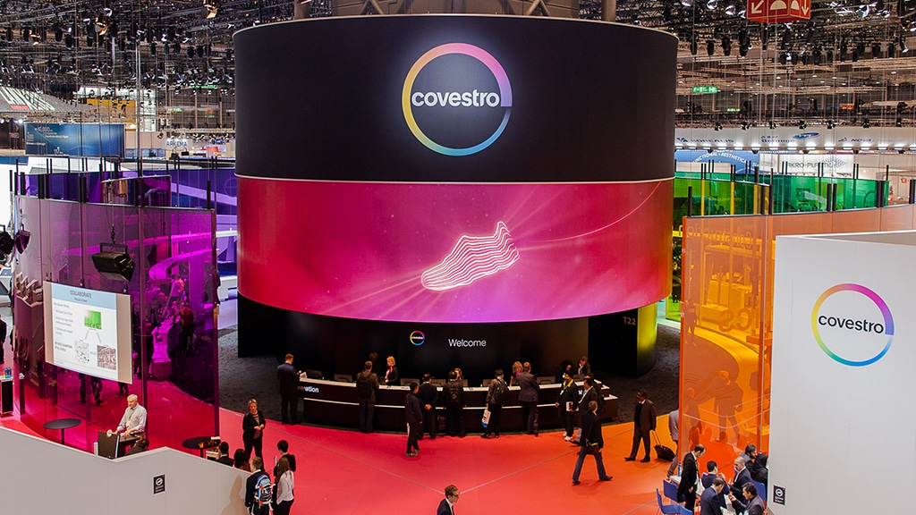 Covestro Messestand