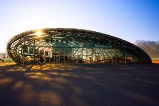 Der Hangar 7 am Salzburger Airport