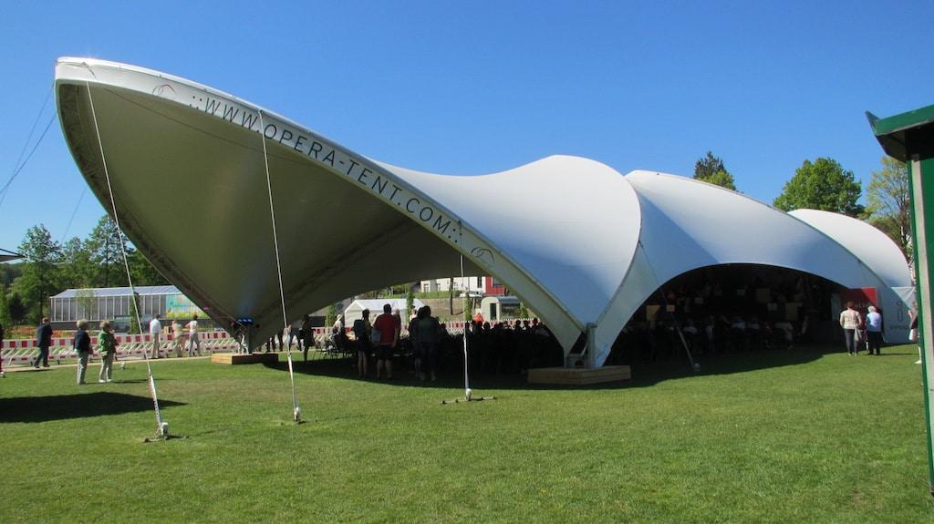 Opera-Tent bei Landesgartenschau Bad Iburg