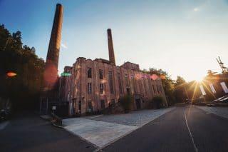 Das Kraftwerk in Rottweil