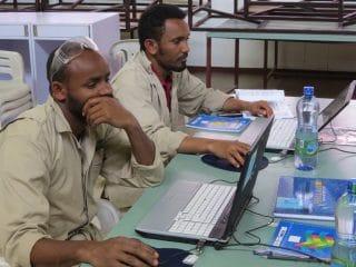 Tischlerschule in Addis Abeba