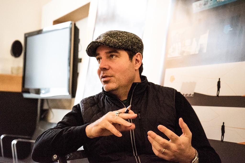 Ulf Eberspächer, Kreativdirektor bei Triad Berlin