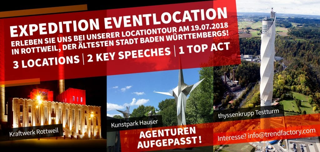 Kraftwerk Rottweil: Save the date