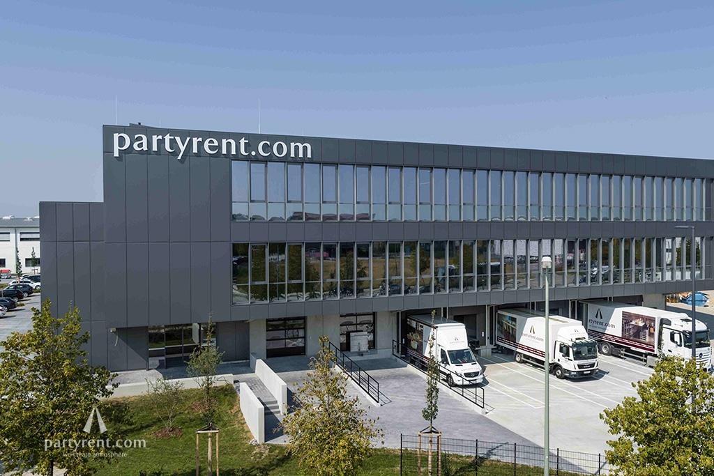 Party Rent München Außenansicht