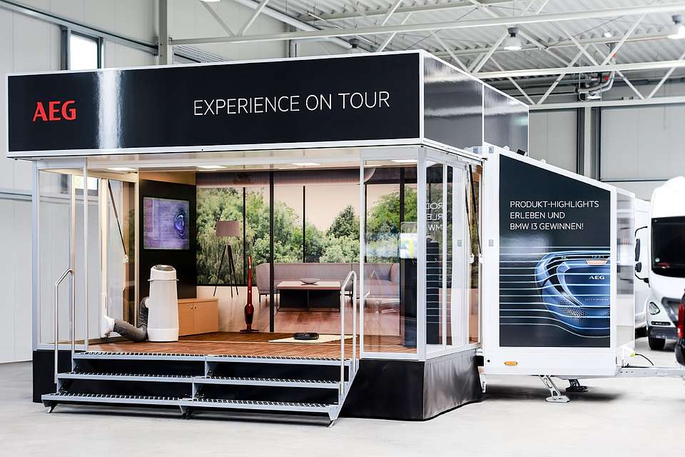 mobiler Messestand: Cube.expo von Most Mobile Specials