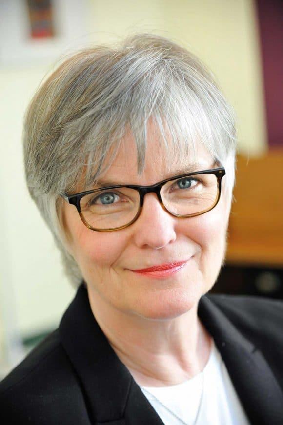 Pfarrerin Ulrike Johanns hat 30 Jahre lang am Frankfurter Flughafen gearbeitet.