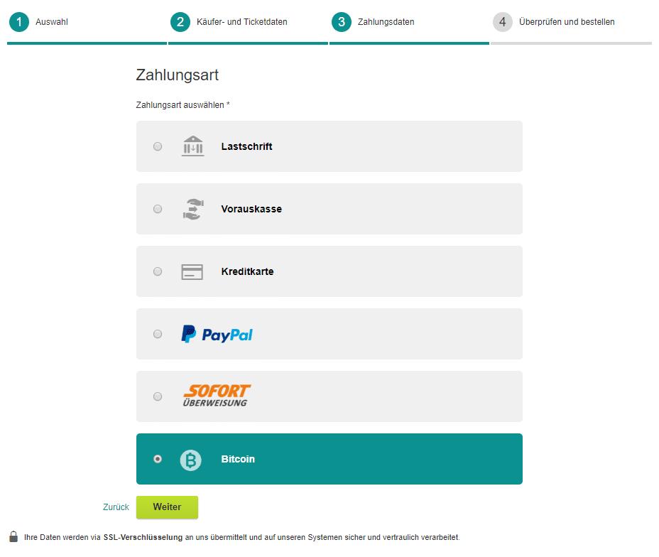 XING Events ermöglicht Ticketkauf mit Bitcoin