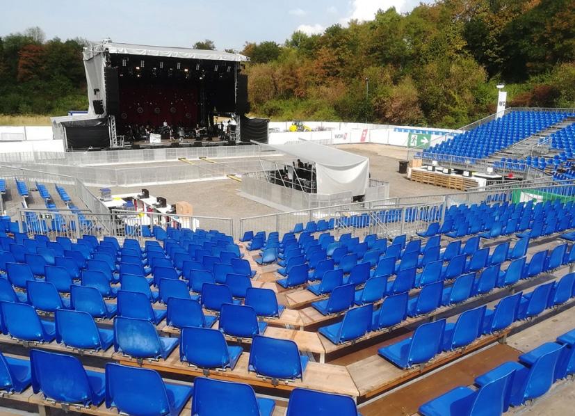 eps baut neue temporäre Open-Air-Arena an der Wassermannhalle