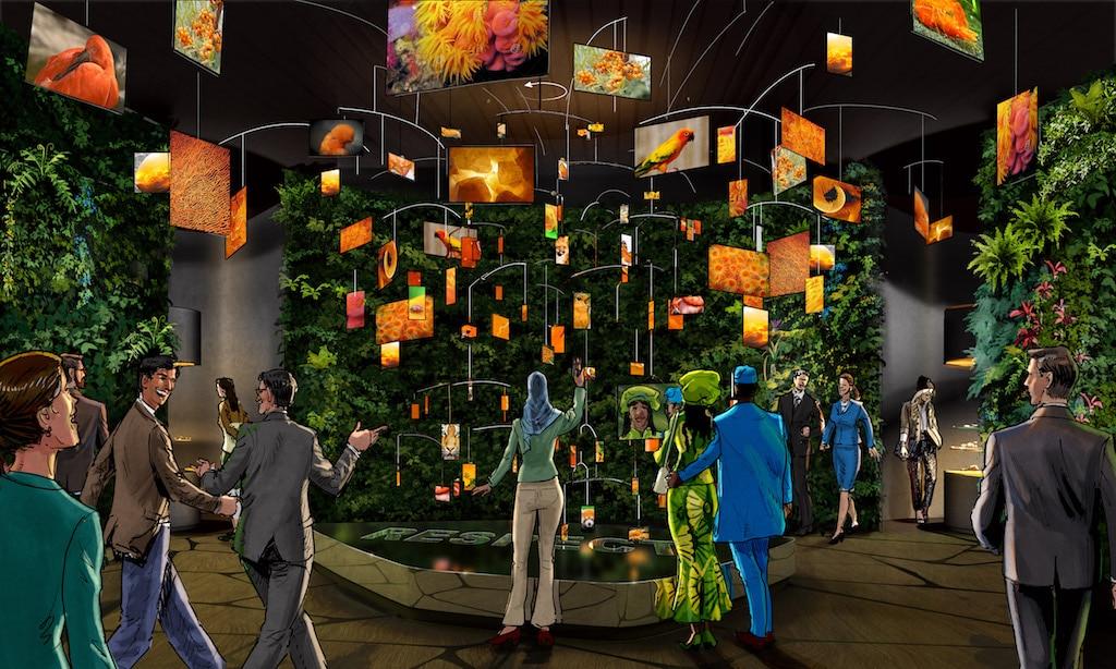 """Der Deutsche Pavillon CAMPUS GERMANY: Ausstellung, """"Biodiversity Lab"""""""