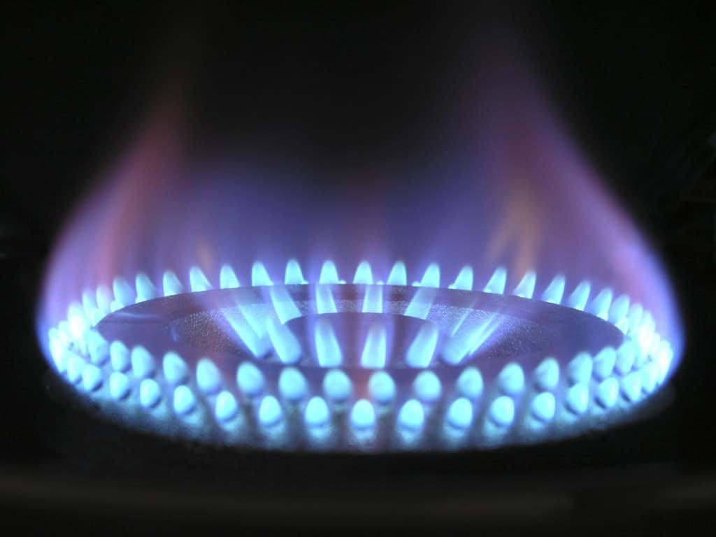 Flamme-Gas