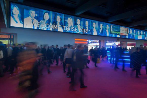 Entrance Area ISE 2018