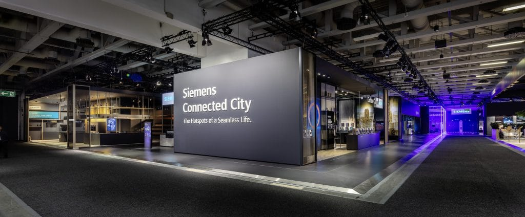 Siemens Messestand IFA 2018, Berlin