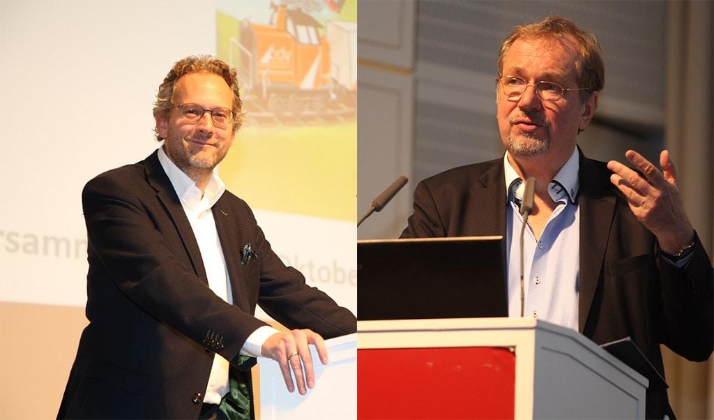 Pascal Funke (l.) und Prof. Jens Michow