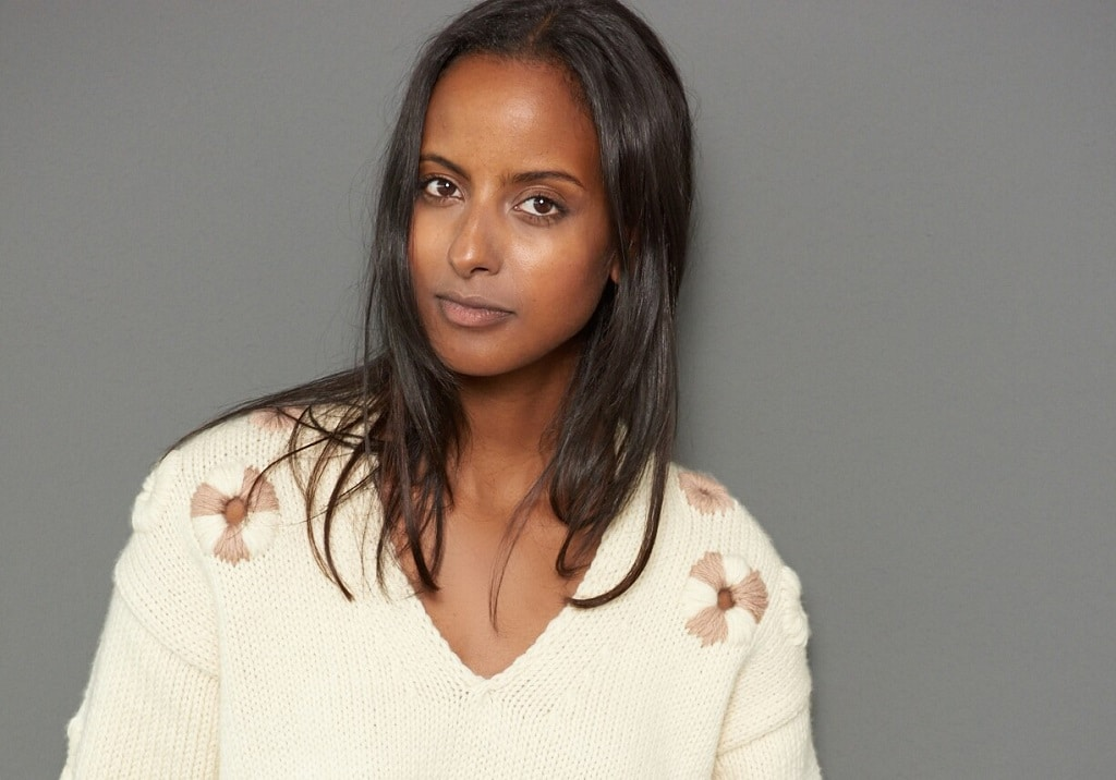 Model und Moderatorin Sara Nuro