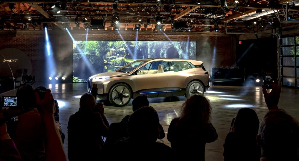 BMW Vision iNEXT Pre-Event in LA