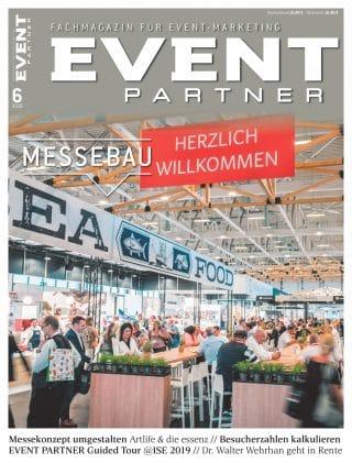 Cover der EVENT PARTNER Ausgeb 6.18