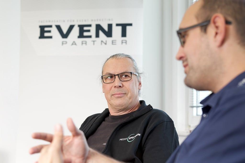 Round Table Talk Exhibition Design mit Dirk Schmidt-Enzmann und Thomas von Treichel