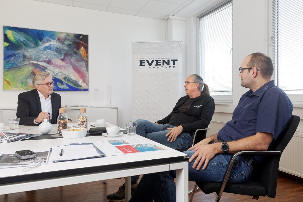 Round Table Talk Exhibition Design mit Gerd Wutzler, Dirk Schmidt-Enzmann und Thomas von Treichel