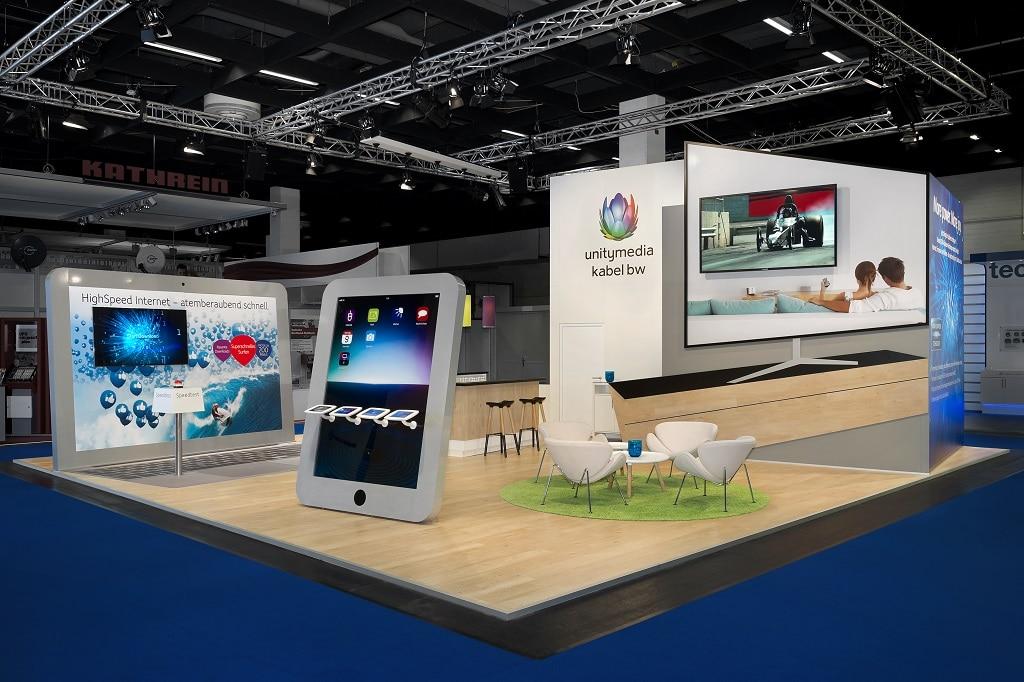 Unitymedia Messestand für Amecko GmbH mit movendi GmbH