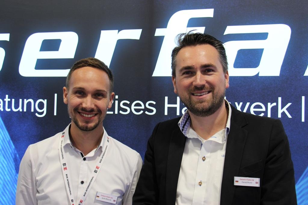 Janik Albrecht und Daniel Brune