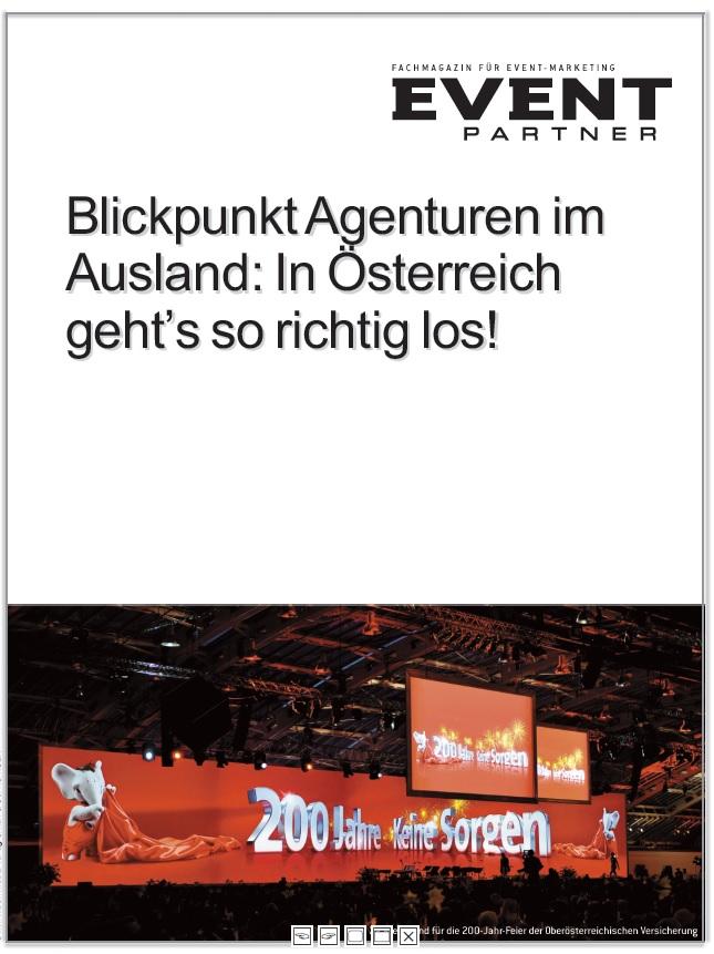 Produkt: Agenturen im Ausland: Österreich
