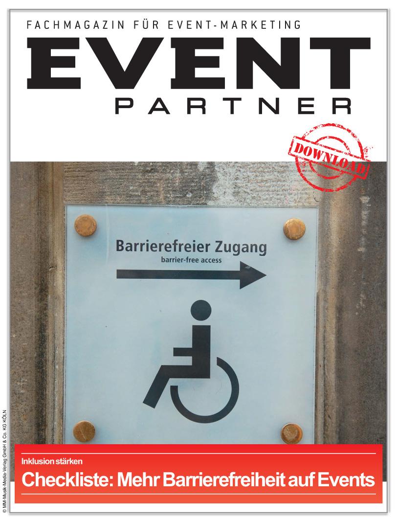 Produkt: Checkliste: Mehr Barrierefreiheit auf Events