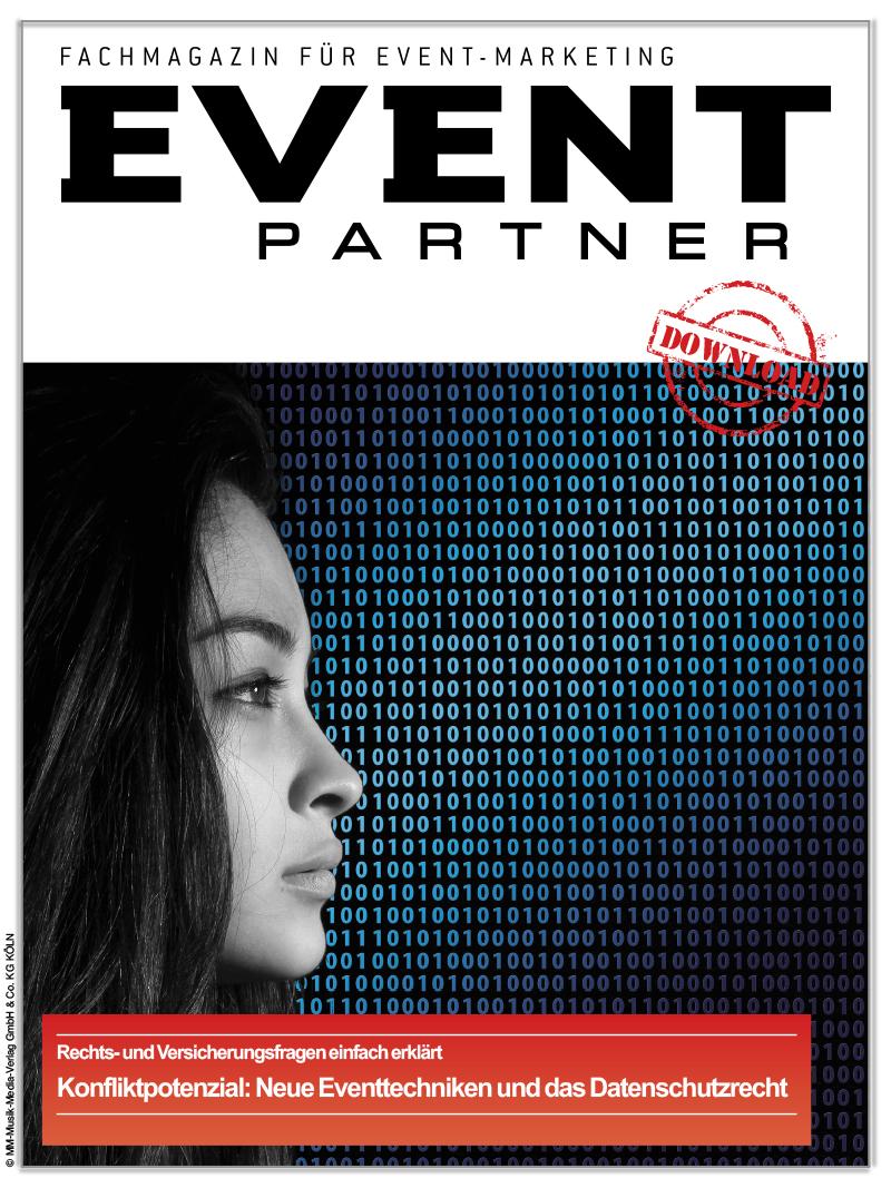 Produkt: Konfliktpotenzial: Neue Eventtechniken und das Datenschutzrecht