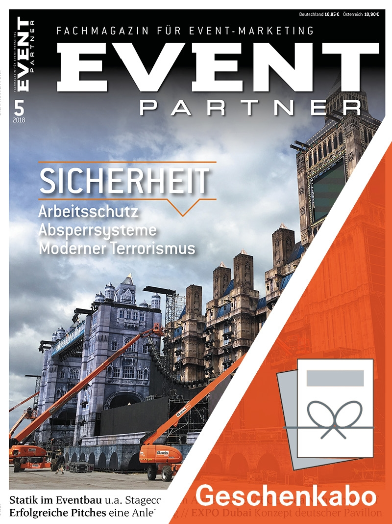 Produkt: EVENT PARTNER Geschenkabonnement Print