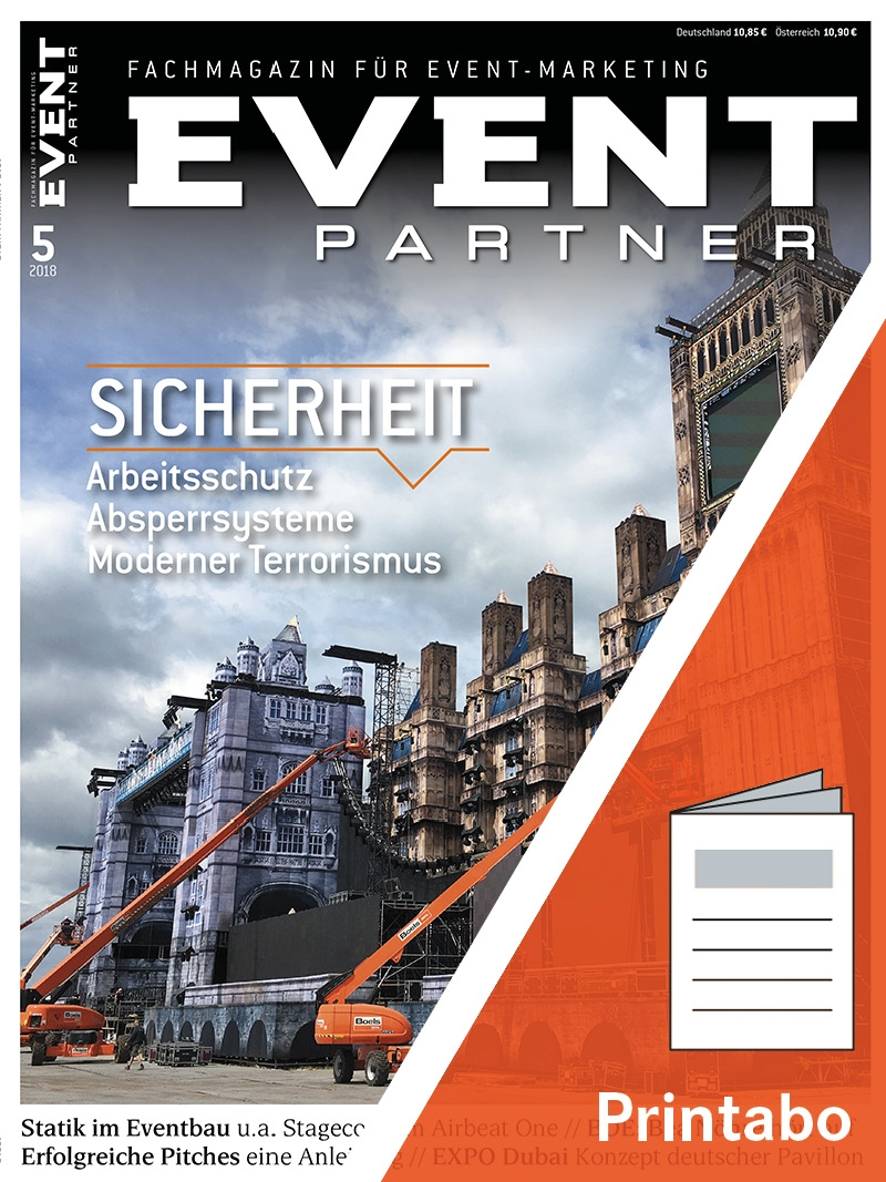 Produkt: EVENT PARTNER Jahresabonnement Print