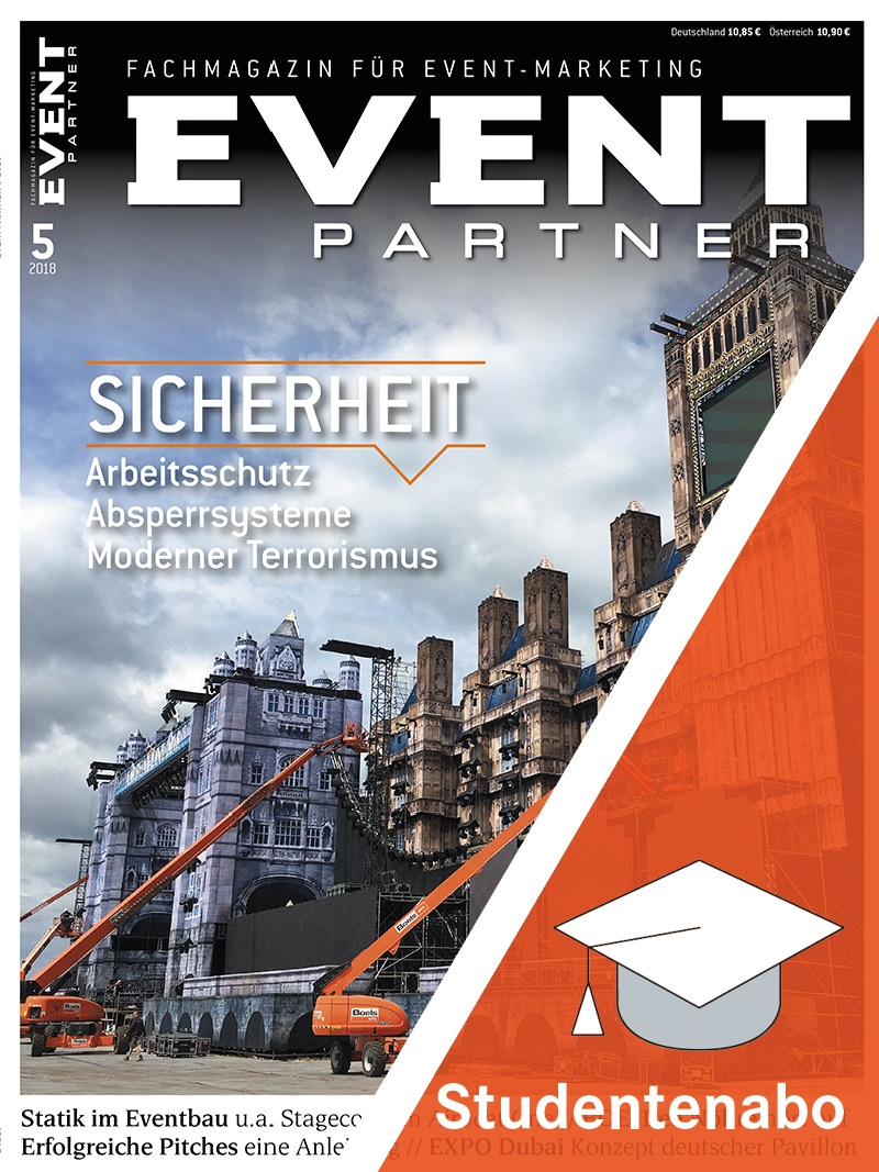 Produkt: EVENT PARTNER Studentenabonnement Print