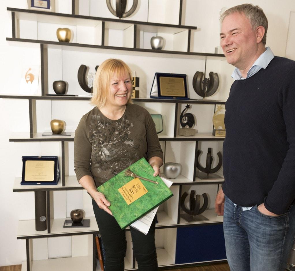 Annette Beyer und Christian Poswa Zora Award 2019
