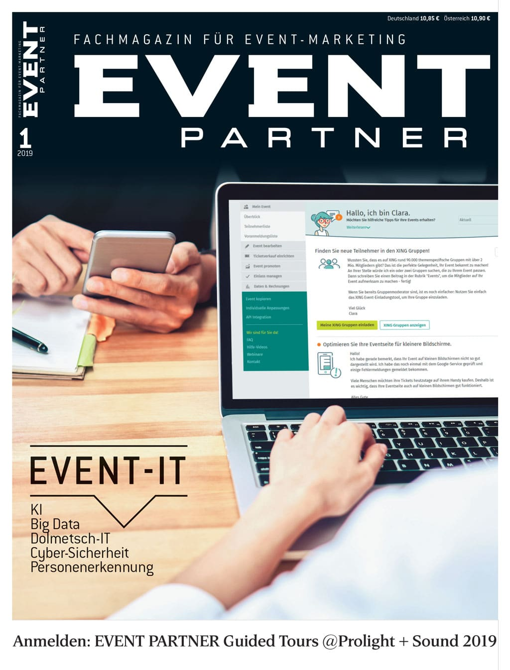 Aktuelle Ausgabe: Event Partner