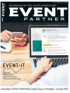 Produkt: Event Partner 01/2019 Digital