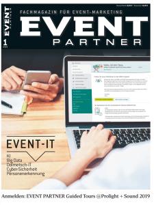 Produkt: Event Partner 01/2019