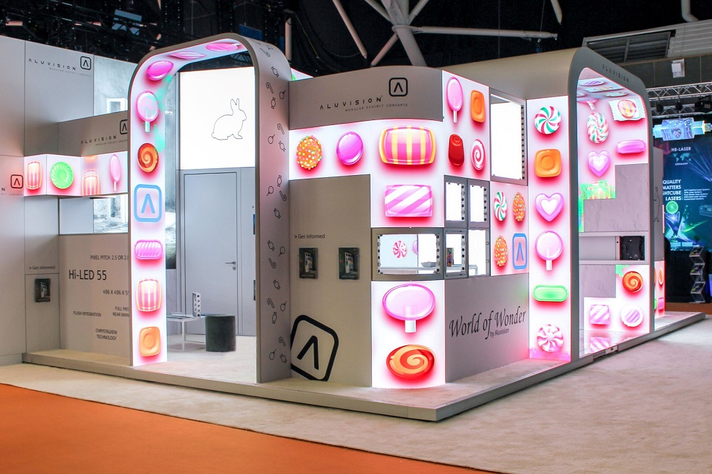 ISE Amsterdam 2019 Aluvision