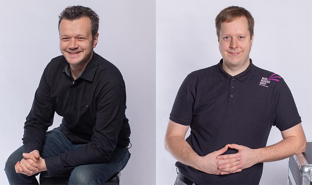 Kilian Körber und Leopold Hollerith