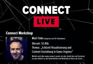 Connect Workshop mit Matt Finke