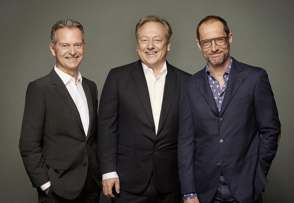 (v.l.n.r.): Dominik Philipp, Andreas Fischer-Appelt und Hartwig Keuntje