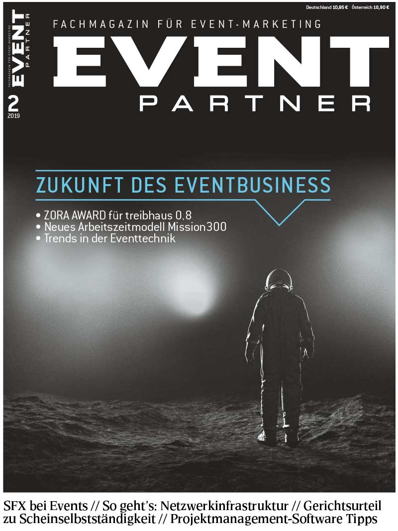 EVENT PARTNER Ausgabe 2 2019 Cover