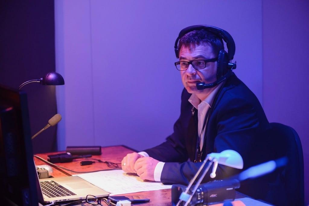 Late-Night-Concepts-Geschäftsführer Ingo Kaiser unterstützt vor Ort.