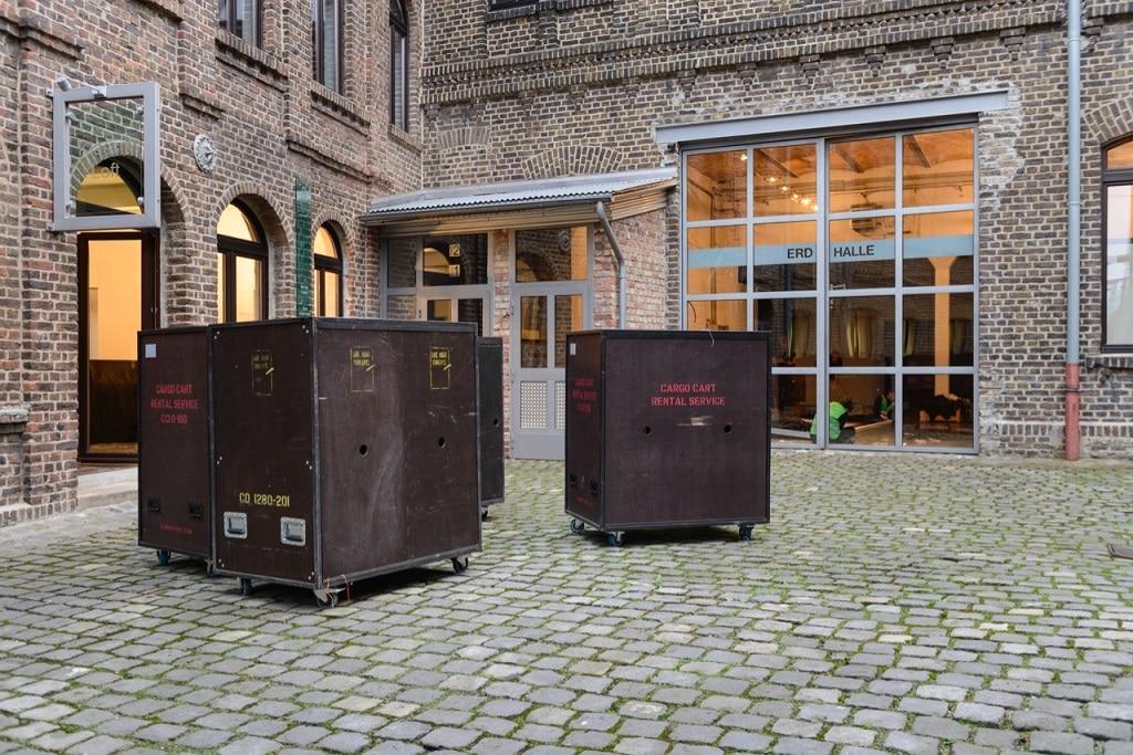 Cargo Cart ist die eigene patentierte Transportlösung von Late Night Concepts.
