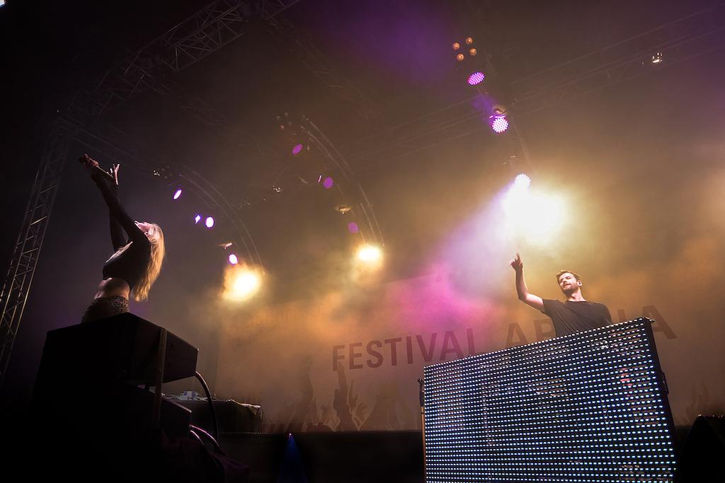 Musikmesse Festival Arena Glasperlenspiel