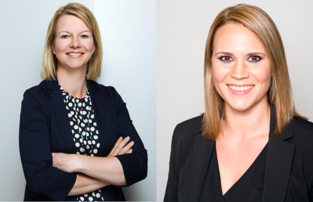 Andrea Filtzinger und Stefanie Eichelberger